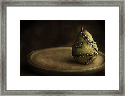 Manipulated Fruit Framed Print by Dirk Ercken