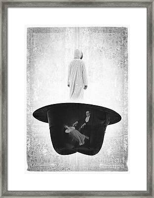 The Magic Hat Framed Print by Edward Fielding