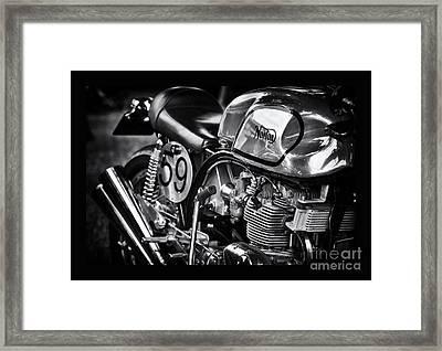 Manx Norton Framed Print by Tim Gainey