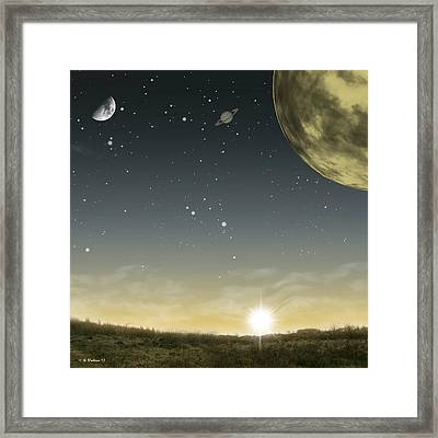 Many Moons Ago Framed Print by Brian Wallace