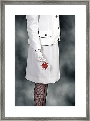 Maple Leaf Framed Print by Joana Kruse