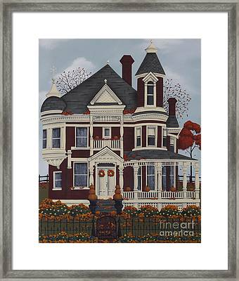 Maple Place Framed Print by Catherine Holman