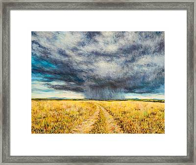 Mara Storm Framed Print by Tilly Willis