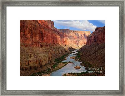 Marble Canyon Framed Print by Inge Johnsson