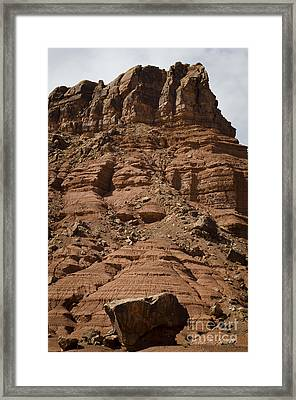 Marble Canyon Vi Framed Print by Dave Gordon