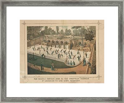 Marble Skating Rink Framed Print by British Library