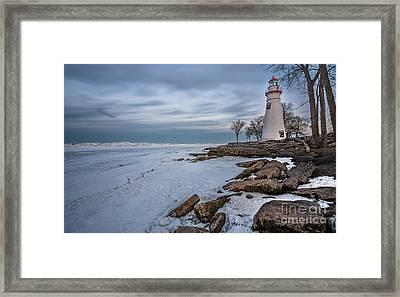 Marblehead Lighthouse  Framed Print by James Dean