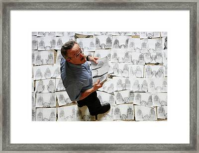 Marc Breedlove Framed Print by Thierry Berrod, Mona Lisa Production