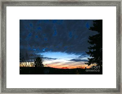 March 19th Framed Print by Jay Nodianos
