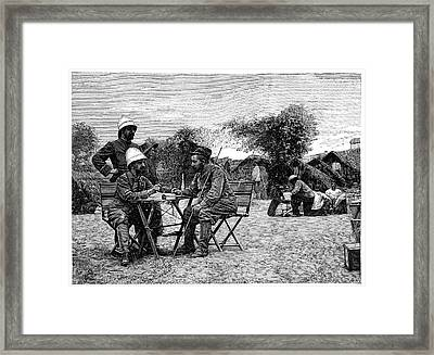 Marchand Expedition Across Africa Framed Print by Science Photo Library