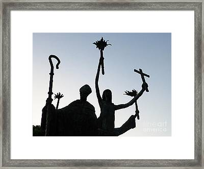 Marching At Midnight Framed Print by Millie Reeve