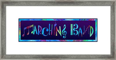 Marching Band Framed Print by Jenny Armitage