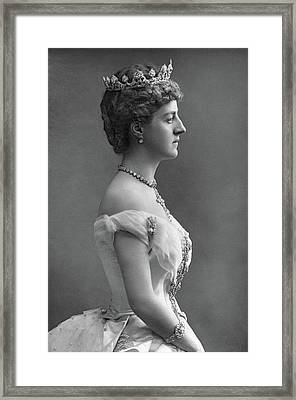 Marchioness Of Londonderry(1834-1896) Framed Print by Granger