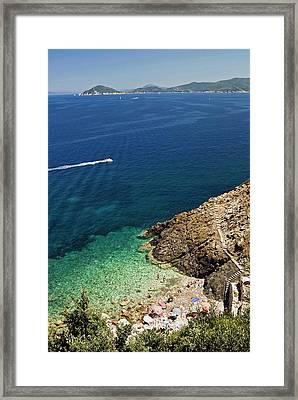 Marciana Marina, Isola D'elba, Elba Framed Print by Nico Tondini