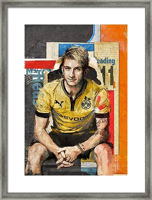 Marco Reus Framed Print by Corporate Art Task Force