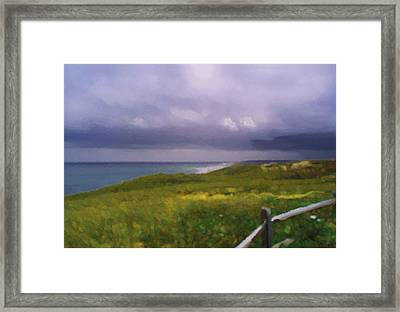 Marconi Squall Framed Print by David Klaboe