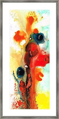 Mardi Gras - Colorful Abstract Art By Sharon Cummings Framed Print by Sharon Cummings
