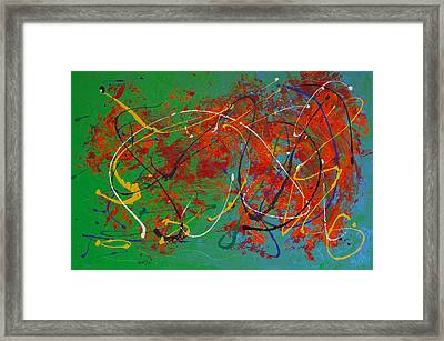 Mardi Gras Framed Print by Donna Blackhall
