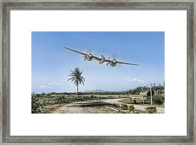 Mareeba Flyover Framed Print by Peter Chilelli