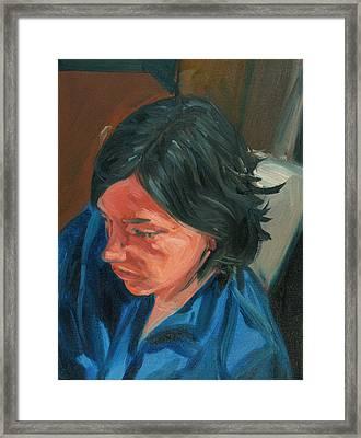 Margaret Framed Print by Daniel Clarke