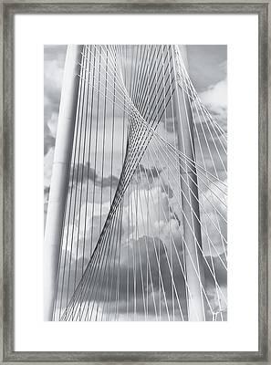 Margaret Hunt Hill Bridge Framed Print by Joan Carroll