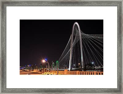 Margaret Hunt Hill Bridge Framed Print by Tod and Cynthia Grubbs