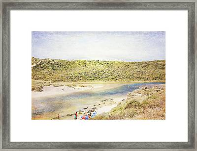 Margaret Rivermouth In Western Australia Framed Print by Elaine Teague