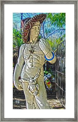 Mariachi Michelagelo - 04 Framed Print by Gregory Dyer