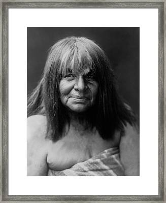 Maricopa Indian Women Circa 1907 Framed Print by Aged Pixel
