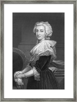 Marie Antoinette Framed Print by Underwood Archives