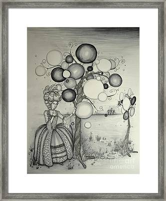 Marie's Dreamland Framed Print by Lucy Stephens