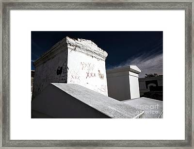 Marie's Tomb Framed Print by John Rizzuto