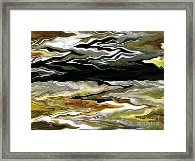 Marilene Staprilene Waves Framed Print by J McCombie