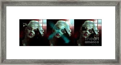 Marilyn 128 Tryp  Framed Print by Theo Danella