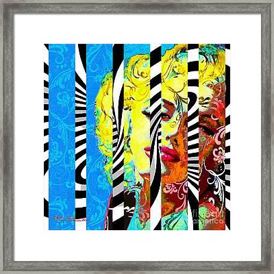 Marilyn 130 B Framed Print by Theo Danella