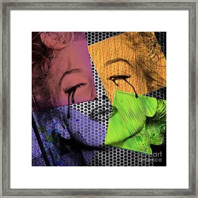 Marilyn Framed Print by Mark Ashkenazi