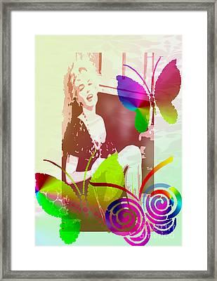 Marilyn Monroe Framed Print by Victoria Kir