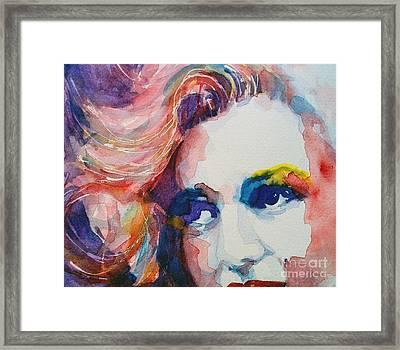 Marilyn No11 Framed Print by Paul Lovering