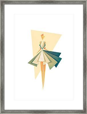 Marilyn Framed Print by VessDSign