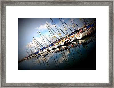 Marina Framed Print by Arie Arik Chen