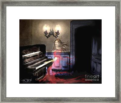 Marina's Ivory Framed Print by Tom Straub