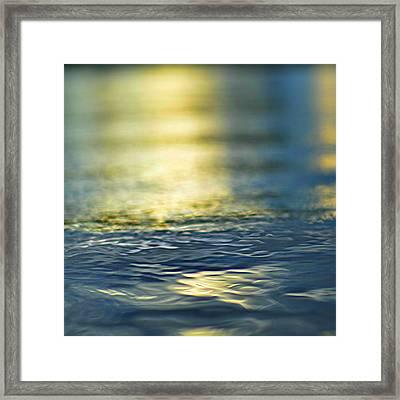 Marine Blues Framed Print by Laura Fasulo