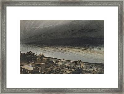 Marine Terrace In Jersey Framed Print by Victor Hugo