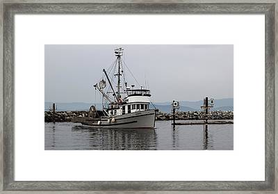Marinet Framed Print by Randy Hall