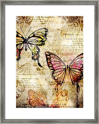 Mariposa Equinox Framed Print by Gary Bodnar