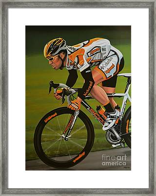 Mark Cavendish Framed Print by Paul Meijering