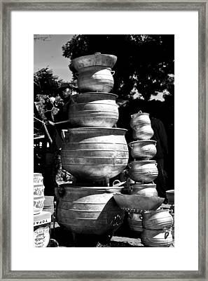 Market 1 Framed Print by Nicole Neuefeind