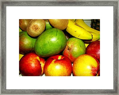 Market Day 2 Framed Print by Margaret Newcomb