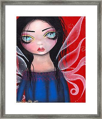 Marla Framed Print by  Abril Andrade Griffith