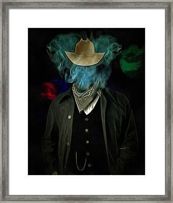 Marlboro Man Framed Print by Anthony Caruso